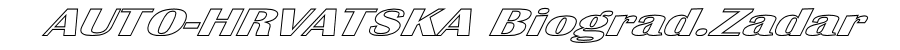 AUTO-HRVATSKA BIOGRAD/ZADAR